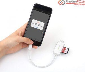Nơi bán đầu đọc thẻ nhớ SD, TF cho iPhone iPad