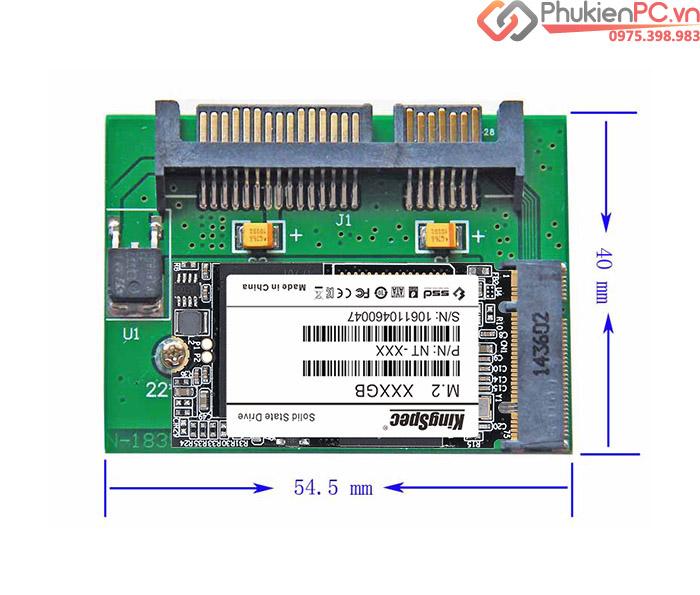 Adapter chuyển đổi M2 SATA 2242 sang SATA III