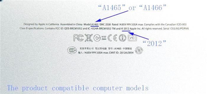 Adapter SSD M.2 SATA 2280 sang SSD Macbook Air, Retina 2012