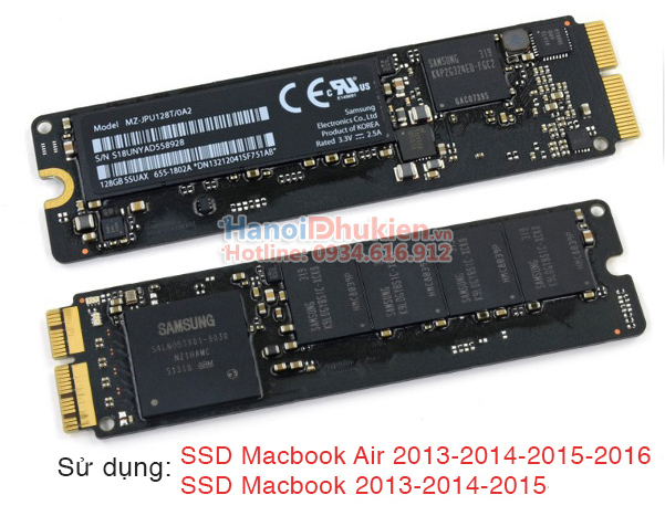SSD A1465 A1466 A1398 A1502 Macbook Air, Pro to PCI-E 4X Adapter