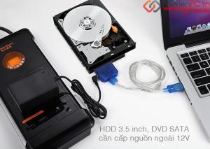 Thiết bị chuyển đổi ổ cứng HDD, SSD SATA sang USB giá rẻ