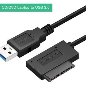Cáp kết nối DVD, CD Laptop ra USB 3.0