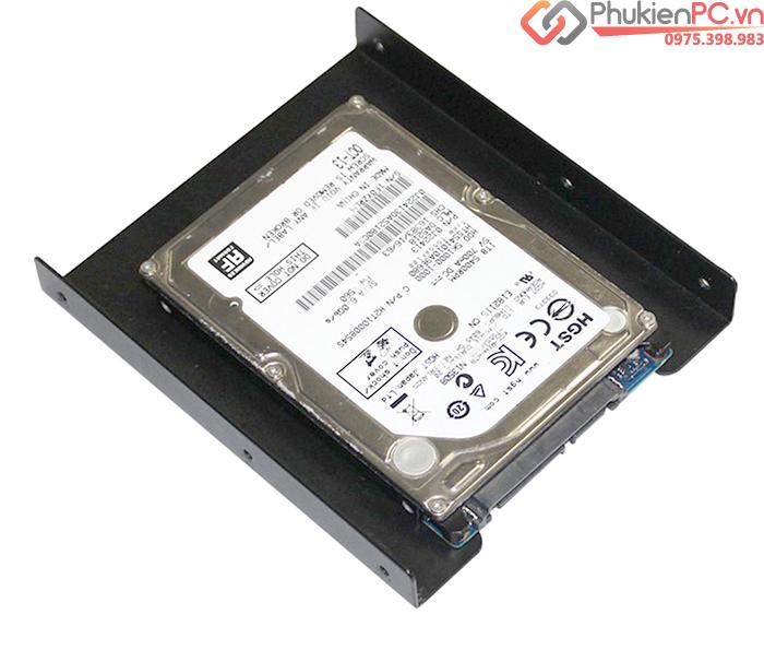 Khay gắn SSD cho máy tính bàn PC (2.5 to 3.5 bracket)