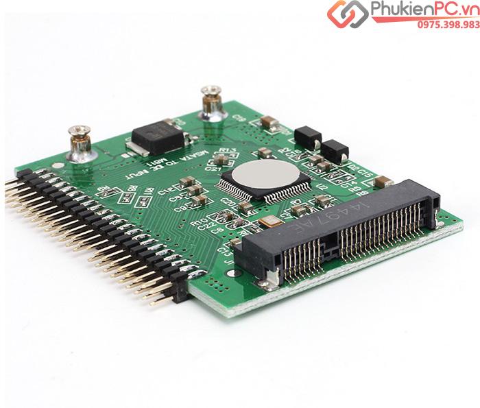 Adapter chuyển đổi SSD mSATA sang IDE 2.5 inch 44pin