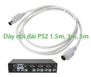 Nơi bán cáp nối dài PS2 (MD6) dài 1.5m, 3m, 5m uy tín, giá rẻ