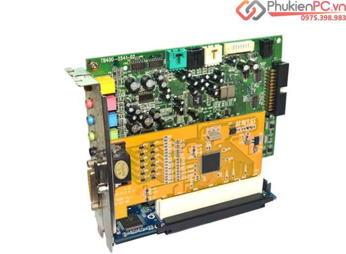 Cách gắn Card PCI vào Mainboard không có khe cắm PCI