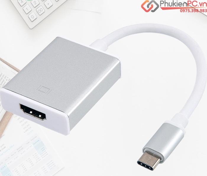 Cáp USB Type C (thunderbolt 3) sang HDMI full hd1080p