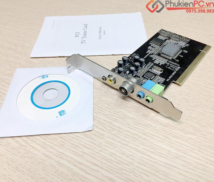 Card ghi hình PCI sang AV RCA cho máy siêu âm, nội soi