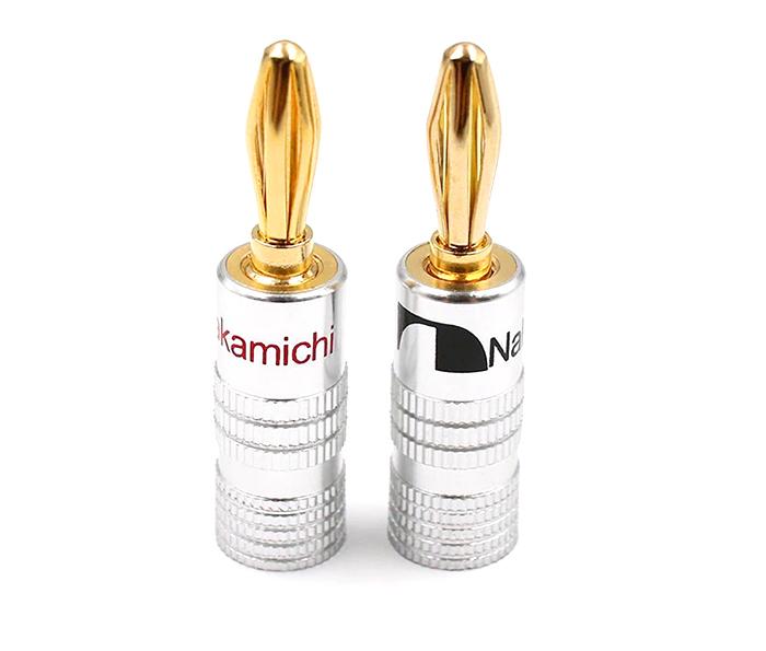 Giắc âm thanh bắp chuối Nakamichi 4mm (1 chiếc)
