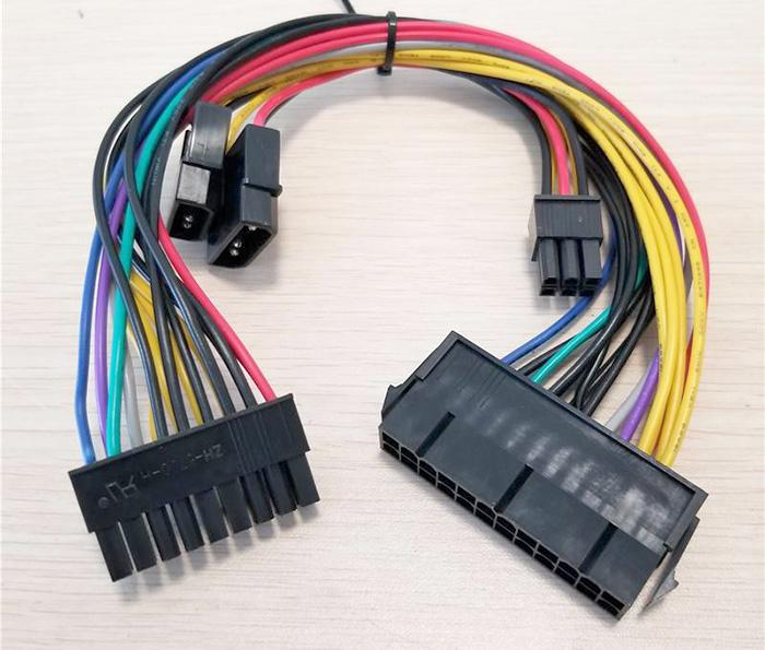Dây nguồn 24pin to 18pin, ATA 4pin to 6pin cho HP Z600 Mainboard