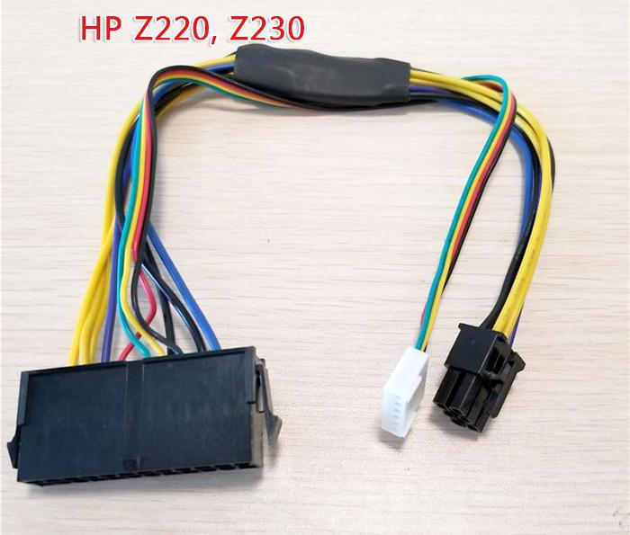 Dây nguồn ATX 24Pin sang 6Pin cho HP Z220 Z230 SFF
