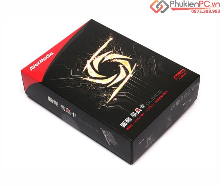 Card ghi hình HDMI 1080P cho máy siêu âm, nội soi, máy chơi game AverMedia GL510E