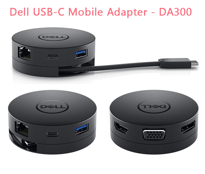DELL USB-C Mobile Adapter DA300 (6 in 1)