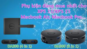 Phụ kiện đáng mua nhất, tốt nhất cho Dell XPS 13, XPS 15, Macbook Pro, Macbook Air