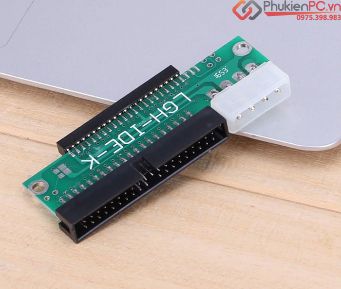 Adapter chuyển đổi 2.5 IDE Female 44Pin to 3.5 IDE 40Pin Male