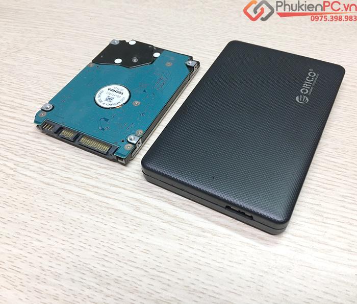 Box ổ cứng HDD SSD 2.5 SATA sang USB 3.0 Orico 2577U3