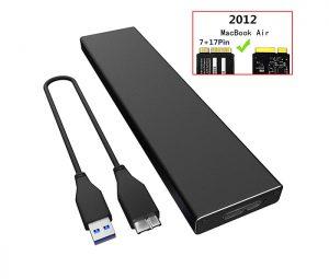 Box chuyển đổi SSD Macbook 2010 2011 2012 sang USB 3.0