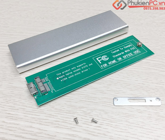 Box SSD 6+12Pin Macbook Air 2010 2011 sang USB 3.0