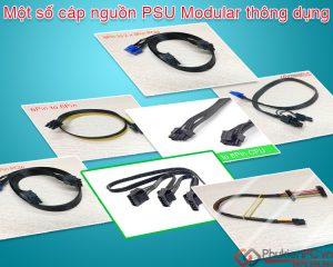 Một số cáp nguồn PSU 6Pin 8Pin Modular dây rời thông dụng