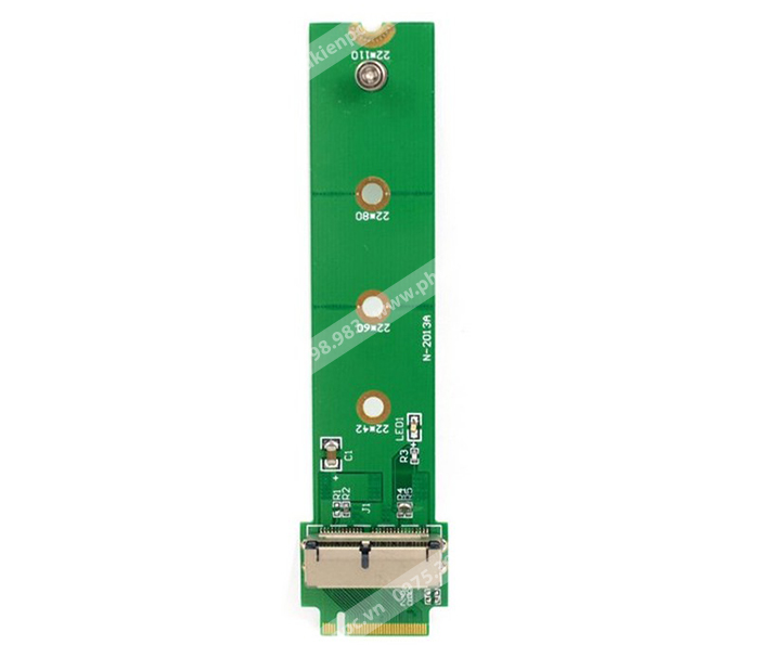 Adapter ổ cứng SSD Macbook 12+16Pin sang M.2 PCI-e M Key