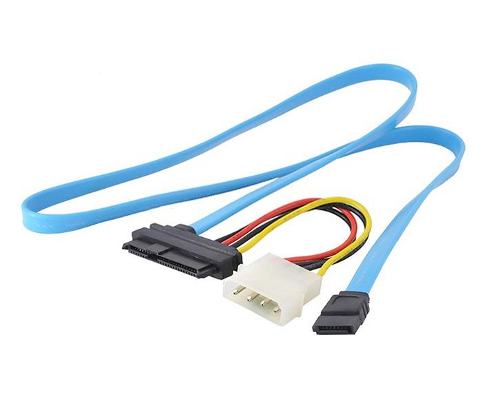 Cáp nguồn chuyển đổi HDD SAS SFF-8482 sang SATA Molex 4pin