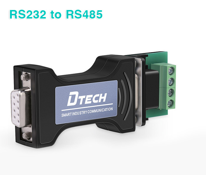 Bộ chuyển đổi RS232 to RS485 Adapter Dtech DT-9000