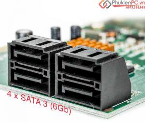 Một số card SATA mở rộng gắn nhiều ổ cứng HDD SSD cho PC, Server