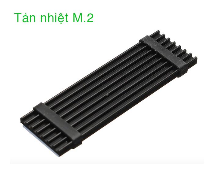Tản nhiệt nhôm cho ổ cứng SSD M.2 SATA NVMe 2280