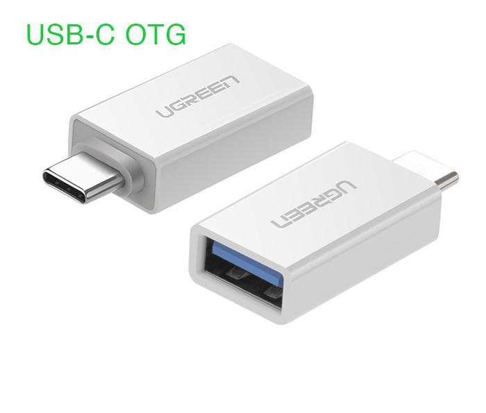 Đầu chuyển USB-C sang USB 3.0 chân cái Ugreen 30155