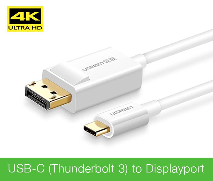 Cáp Thunderbolt 3 sang Displayport 1.5M Ugreen 40420