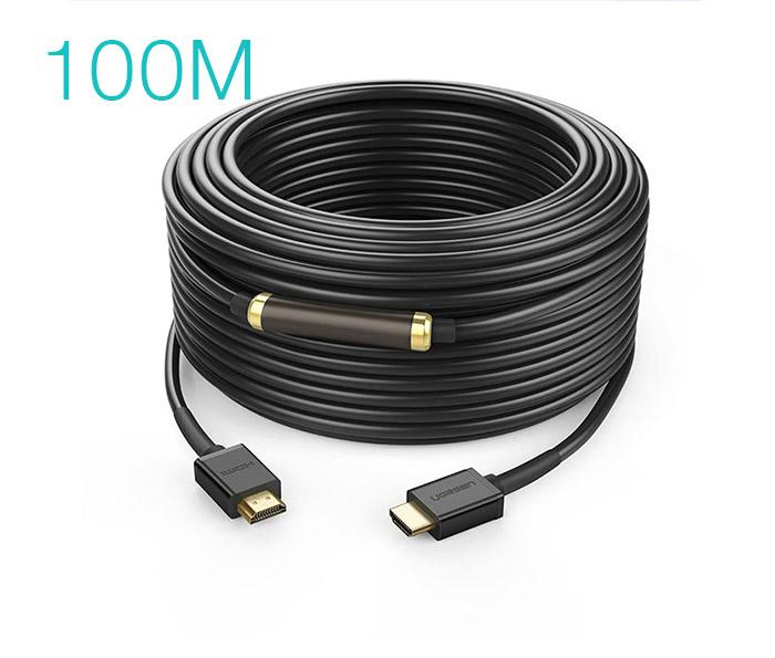 Dây cáp HDMI 1.4 hỗ trợ 4K FullHD Ethernet dài 100M Ugreen 50410