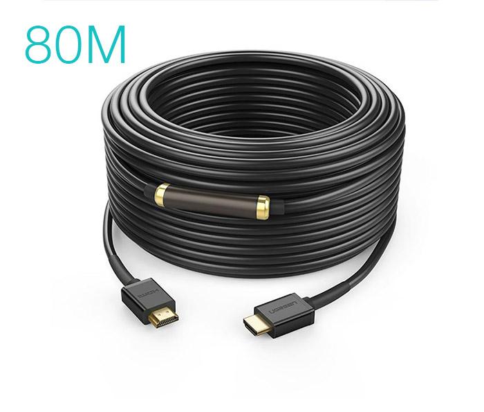 Dây cáp HDMI 1.4 hỗ trợ 4K FullHD Ethernet dài 80M Ugreen 50409