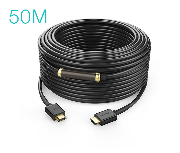 Dây cáp HDMI 1.4 hỗ trợ 4K FullHD Ethernet dài 50M Ugreen 40592