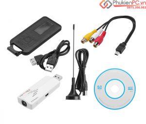Thiết bị chuyển đổi AV RCA SVideo sang USB ghi hình máy siêu âm, nội soi