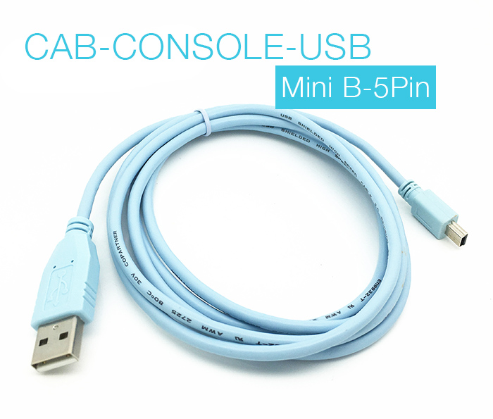 CAB-CONSOLE-USB USB to Mini 5Pin dài 1.8m CISCO WS-C3750X 2921 2911 2951