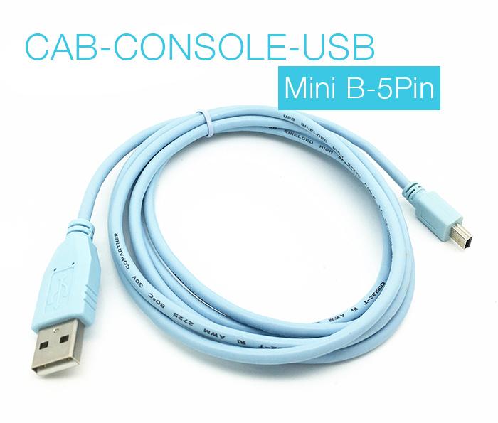 CAB-CONSOLE-USB USB to Mini 5Pin dài 1.8m CISCO WS-C3750X 2921 2911 2951