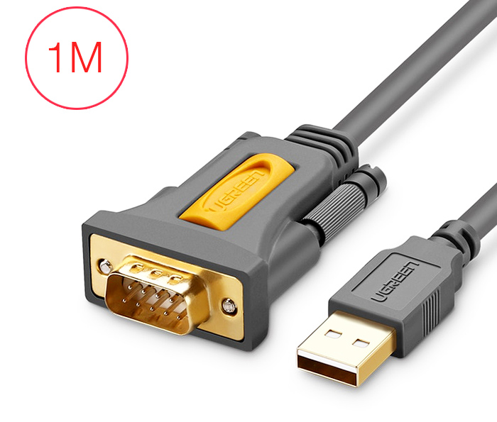 Cáp chuyển đổi USB sang RS232 Serial dài 1M Ugreen 20210