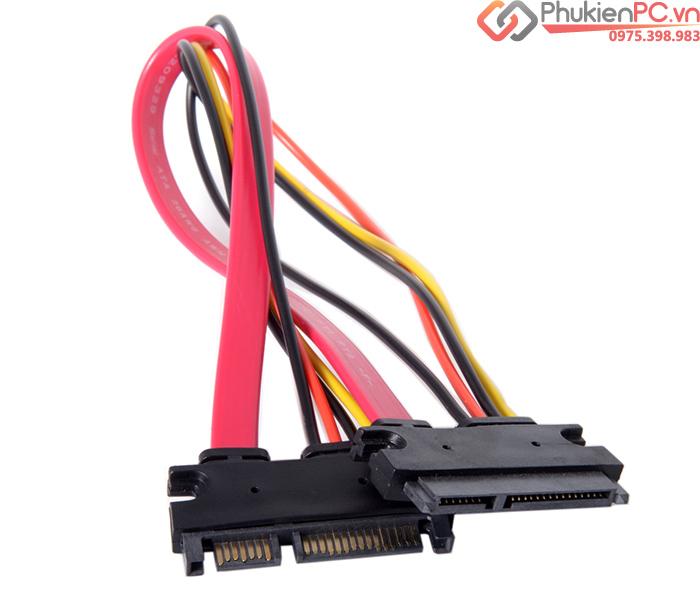 Cáp nối dài SATA Power 50cm cho ổ cứng HDD SSD DVD