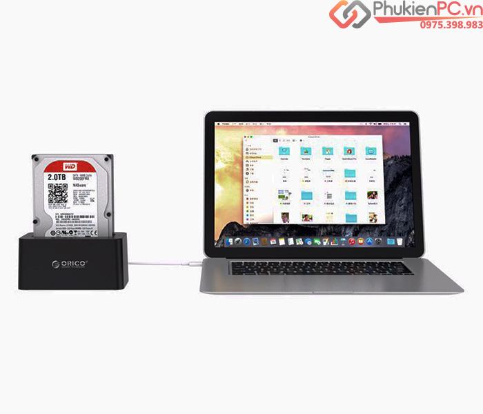 Thiết bị cắm nóng ổ cứng HDD Docking SATA Orico 6619US3