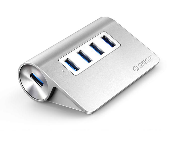 Bộ chia USB 3.0 4 cổng vỏ nhôm thiết kế đẹp Orico M3H4