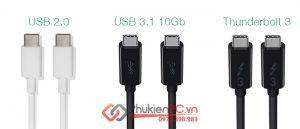 Cáp USB-C là gì? Tư vấn mua cáp USB-C phù với nhu cầu sử dụng