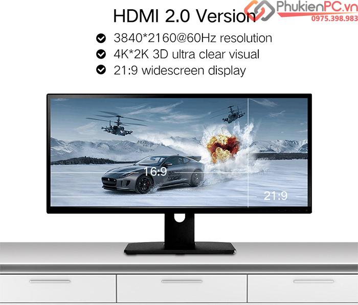 Cáp HDMI 2.0