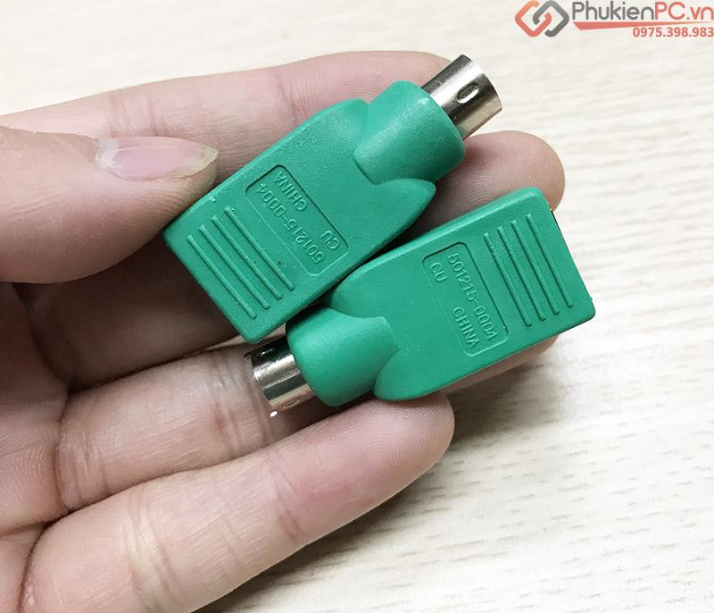 Đầu chuyển đổi PS2 sang USB cho chuột máy tính