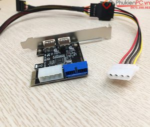 Cáp chuyển Mini 6Pin to ATA SATA cấp nguồn card PCIe cho máy DELL