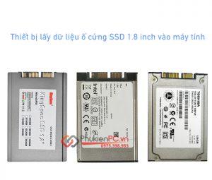 Thiết bị lấy dữ liệu ổ cứng SSD 1.8 intel Micro SATA vào máy tính