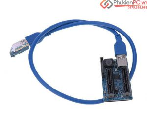 Bộ chia PCIe 1 ra 2, lắp đặt nhiều card trên một máy tính