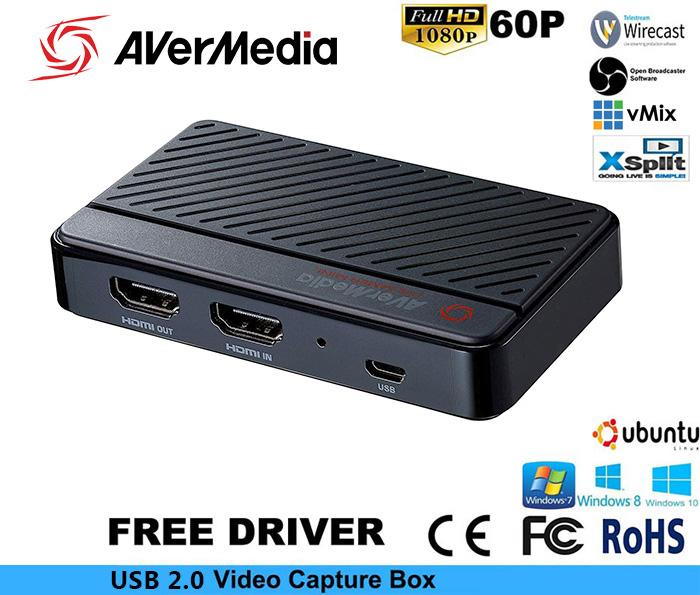 Box capture thiết bị ghi hình live stream HD1080P AverMedia GC311