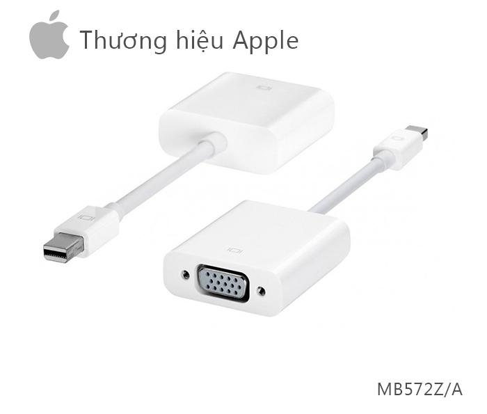 Cáp Apple Thunderbolt to VGA Adapter MB572Z chính hãng