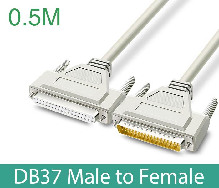 Cáp COM DB37 Male sang DB37 Famle (đực-cái) dài 0.5M