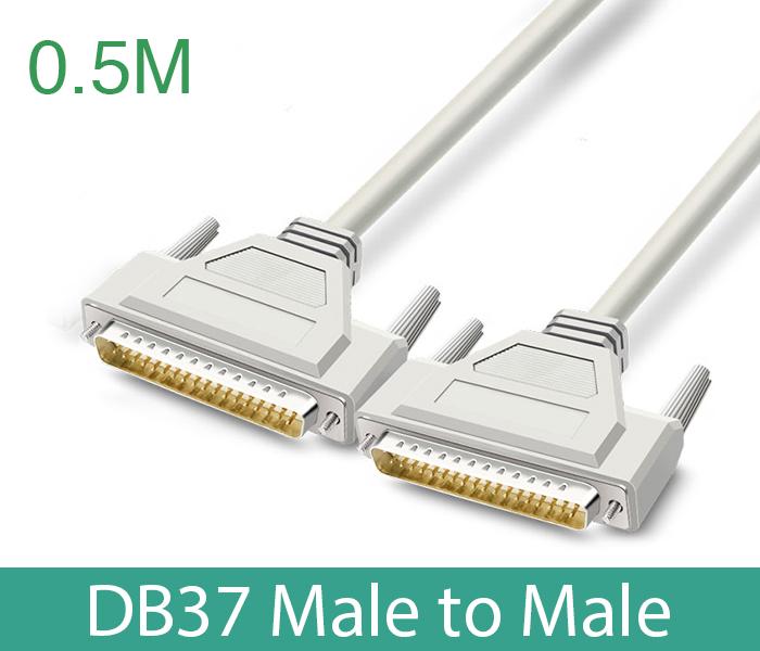 Cáp COM DB37 Male sang DB37 Male (đực-đực) dài 0.5M